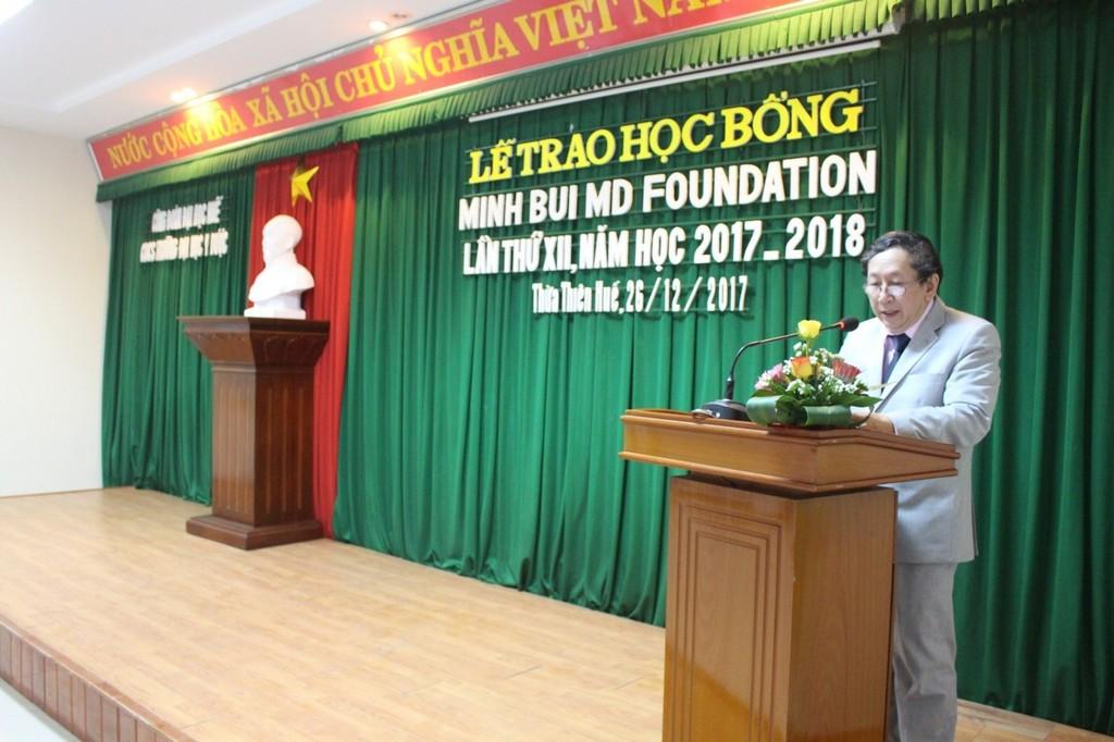 BS Võ Khắc Chắt đọc thư của GS Bùi Văn Minh
