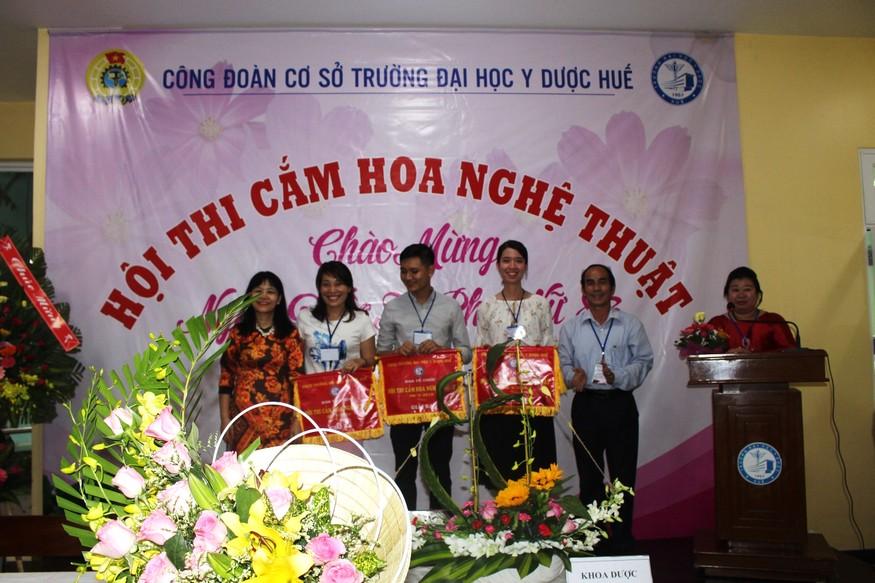 Giải Ba cho CĐBP Khoa Dược, Tổ Công đoàn Chẩn đoán hình ảnh, Bộ môn Nhi.