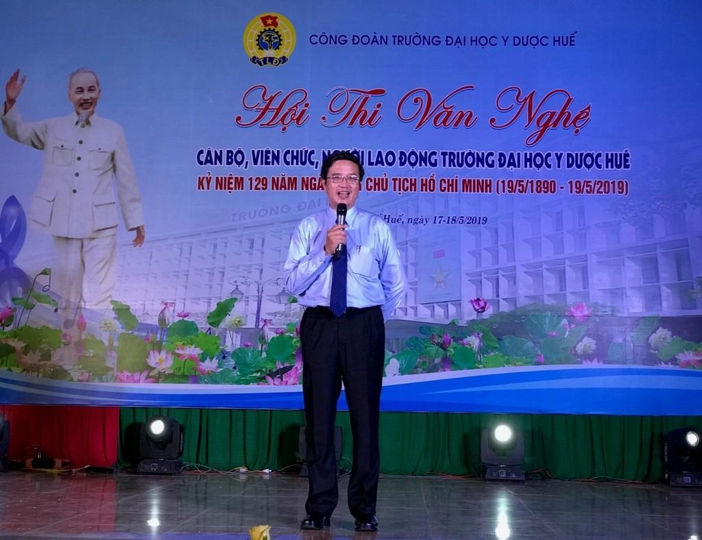 PGS. TS. Nguyễn Vũ Quốc Huy phát biểu khai mạc