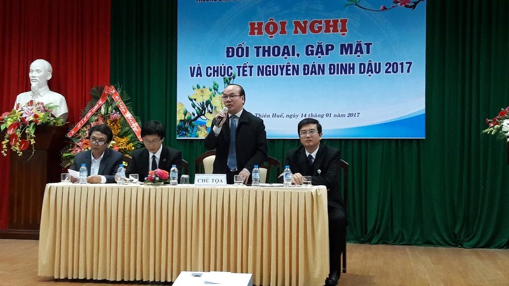 Hội nghị đối thoại và Gặp mặt chúc Tết Nguyên đán Đinh Dậu 2017