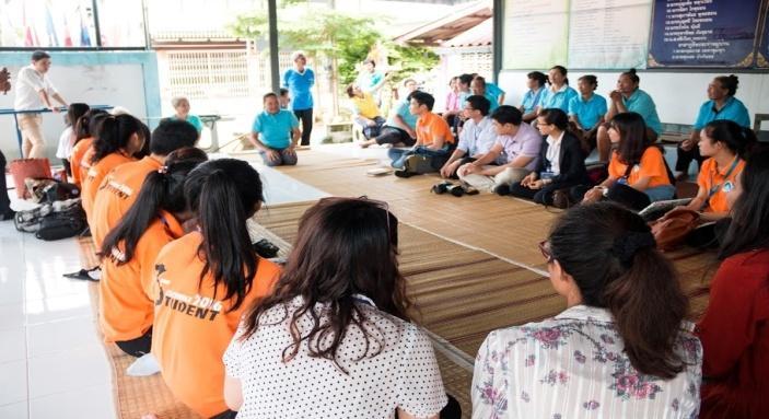 Tham gia hoạt động thực tế tại cộng đồng