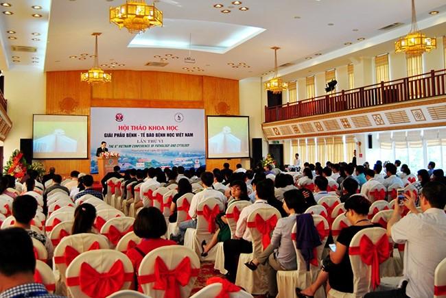 Hội thảo Khoa học Giải phẫu bệnh -  Tế bào bệnh học Việt Nam lần thứ 6 diễn ra với đông đảo đại biểu, các báo cáo viên trong nước và quốc tế