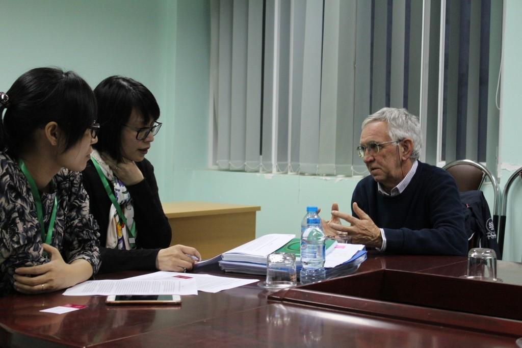 Phỏng vấn GS Piero Cappucinelly, Đại học Sassari - Ý