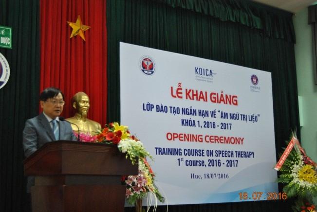 GS. Shin Hye Keun phát biểu khai mạc