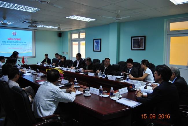 Trường Đại học Y Dược Huế và Tập đoàn Kaiokai thảo luận các nội dung hợp tác song phương