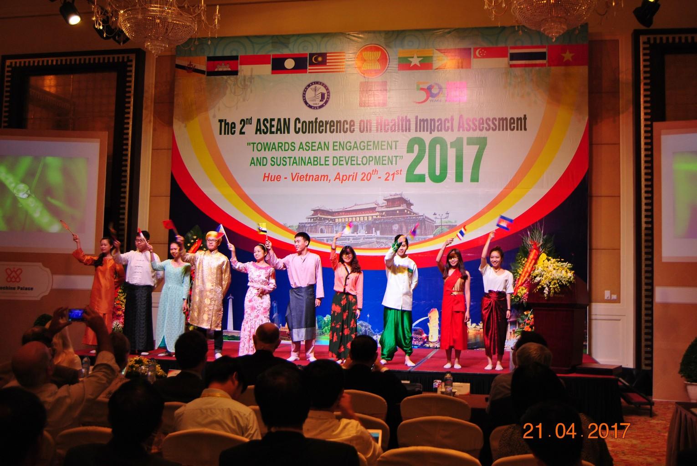 Chương trình văn nghệ mang đậm bản sắc văn hóa các nước Asean