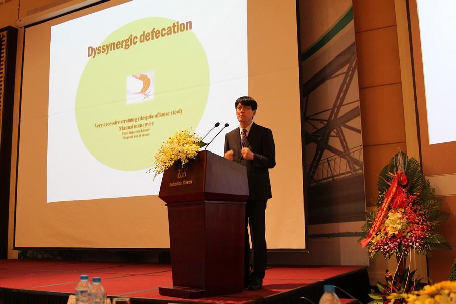 GS.TS Kyu Sung Chung, Hàn Quốc, báo cáo ở hội nghị