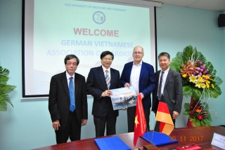 Kỷ niệm 20 năm quan hệ hợp tác tim mạch Đức - Việt và Hội nghị Tim mạch Đức - Việt 2017