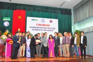 Lễ trao Giải thưởng Nhân tài Đất Việt 2017 lĩnh vực Y Dược học